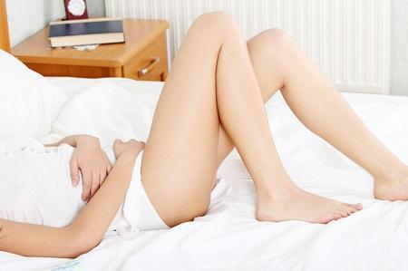 Проявление лейкоплакии вульвы