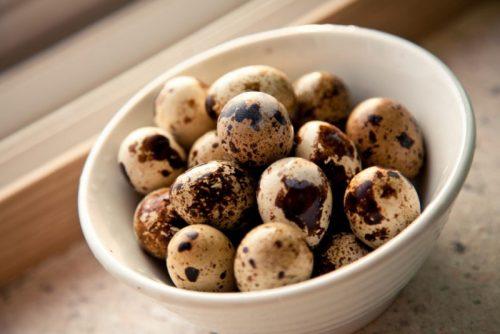 Перепелиные яйца для мужской потенции