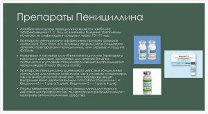Препараты Пенициллина