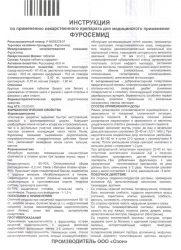 Инструкция препарата Фуросемид