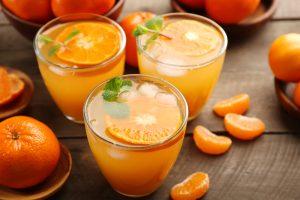 Коктейль с мякотью апельсина