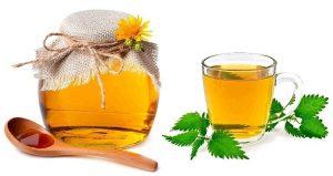 Отвар из крапивы с медом