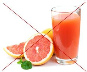 Отказ от грейпфрутового сока