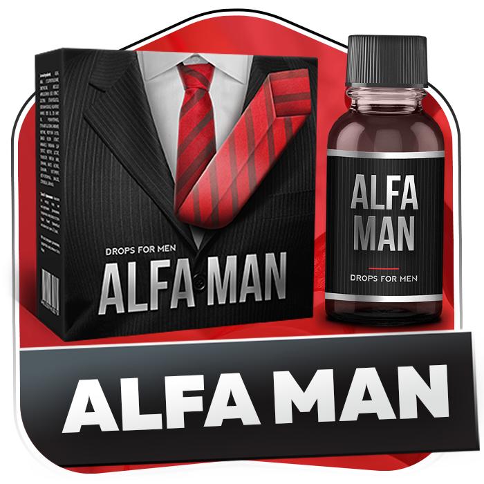 Капли Альфа Мен для мужской потенции