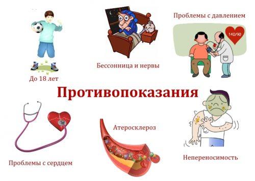 Противопоказания для Дара Гималаев