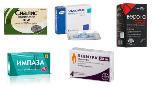 Популярные препараты для потенции, совместимые с алкоголем