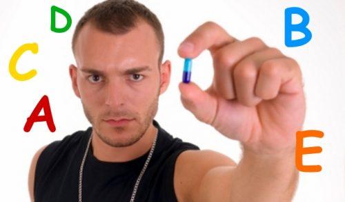 Прием витаминов для хорошей потенции