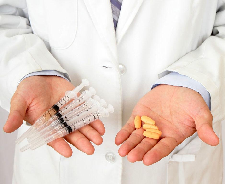 какие уколы и таблетки назначает врач для лечения ЗППП