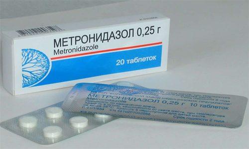 Метронидазол при трихомониазе - особенности применения